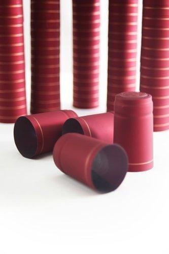 Schrumpfkapseln Bordeaux - 100 Stück - Flaschenverschlüsse - für alle Weinflaschen geeignet