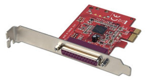 LINDY 1 Port parallel Karte, PCIe -