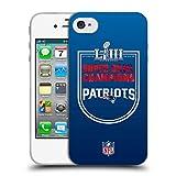Head Case Designs Officiel NFL New England Patriots 2019 Super Bowl LIII Champions...