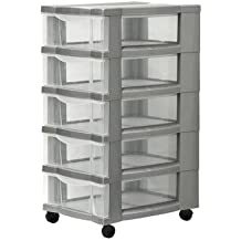Rollcontainer kunststoff 3 schubladen  Suchergebnis auf Amazon.de für: rollcontainer kunststoff