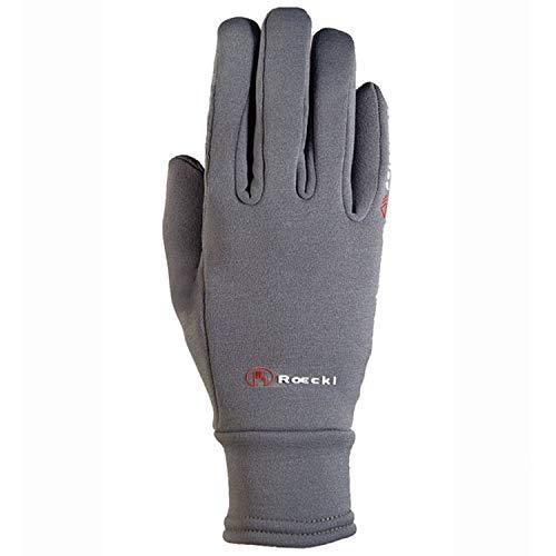 Roeckl Sports Winter Handschuh Warwick Unisex Reithandschuh, Anthrazit, 7,5