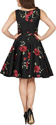 'Audrey' Vintage Infinity Kleid im 50er-Jahre-Stil - 3