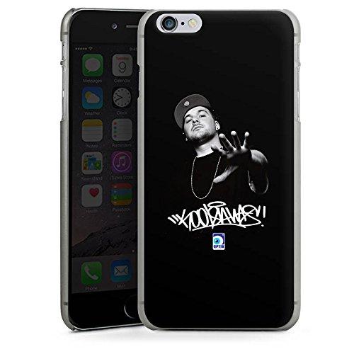 Apple iPhone X Silikon Hülle Case Schutzhülle Kool Savas Fanartikel Merchandise KKS Hard Case anthrazit-klar