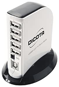Dicota Tower 2.0 Concentrateur (hub) 7 Ports
