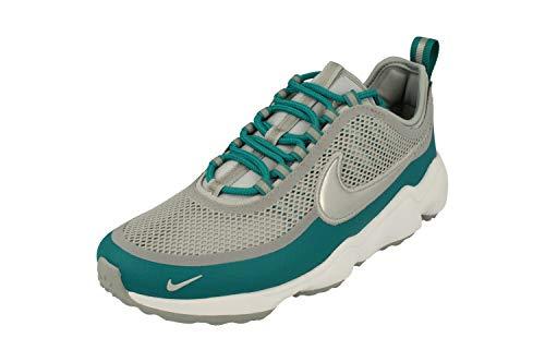Nike Zoom Spiridon Herren Running Trainers 876267 Sneakers Schuhe (UK 5.5 US 6 EU 38.5, Wolf Grey metallic Platinum 004)