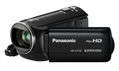 Panasonic HC-V110 with Intelligent 72x ZoomOptical 38x Zoom 8.9 MP and Full HD 1080i Video