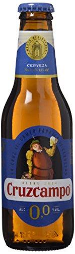 Cruzcampo 00 Beer - Pack of 6 Bottles x 250 ml - Total: 1,5 L