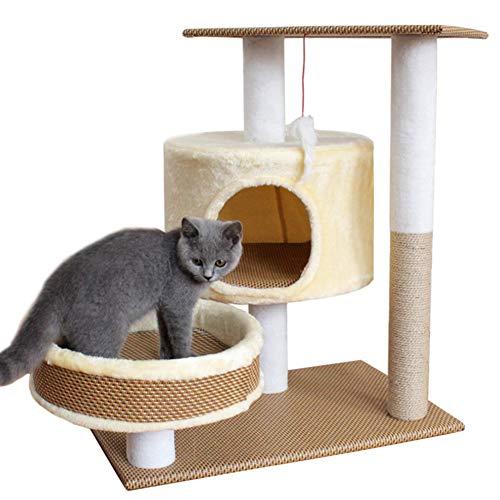 BollySeve Pet Gear Haustiere Treppen,kratzbaum Für Kleine Katzen Haustier Schritte Abnehmbar Waschbar Teppich Lauffläche-für Den Innen-außenbereich-a 60x40x70cm -