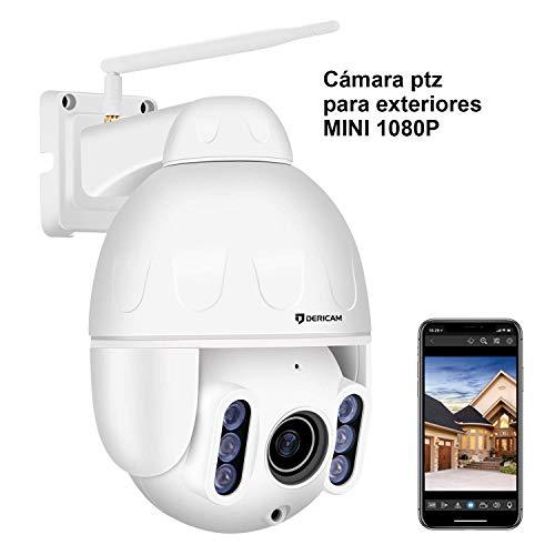 Dericam 1080P IP Dome Outdoor WiFi-Überwachungskamera, 4X Optisc...