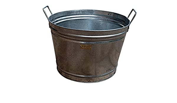 Vasca Da Bagno In Lamiera Zincata : Zicc® tub rotondo grande targa in vasca da bagno vasca secchio 140