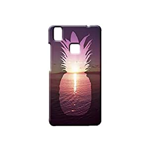 BLUEDIO Designer Printed Back case cover for VIVO V3 - G4705