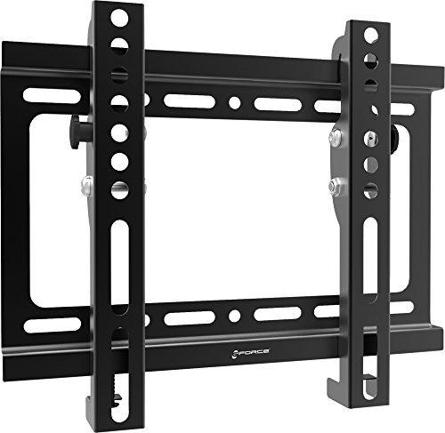 Gforce75® ✔ neigbar TV Wandhalterung für die meisten 43,2cm-106,7cm Zoll LED, LCD und Plasma TVs-VESA kompatibel-25kg/40kg Gewicht Kapazität-Schwarz