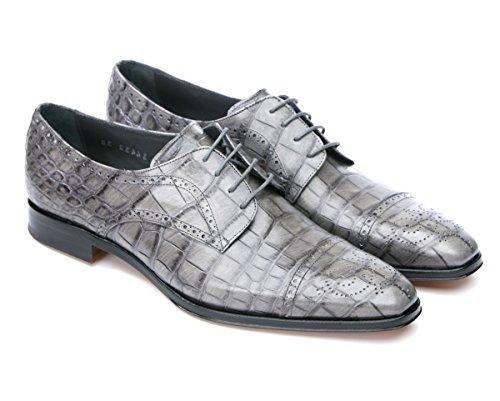 Mister Shoes , Chaussures de ville à lacets pour femme Gris gris 35 EU Gris