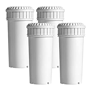 Aqua Crest AQK-42371240 Water Filter Cartridges Compatible with Tommee Tippee Prep System (4)
