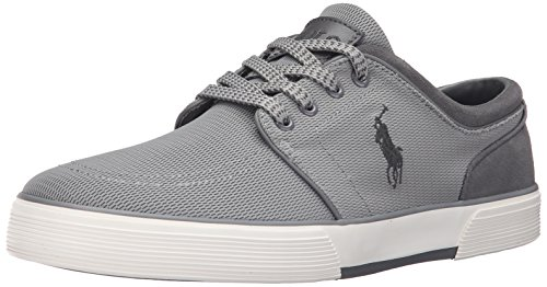 Polo Ralph Lauren Faxon Low Mesh Fashion Sneaker Grey
