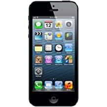 Apple iPhone 5 16GB 4G Negro - Smartphone (SIM única, iOS, NanoSIM, GSM, Barra, Sin suscripción)