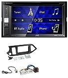 caraudio24 JVC KW-V250BT 2DIN CD DVD USB Bluetooth MP3 Autoradio für Kia Picanto ab 11 ohne Start-Stop