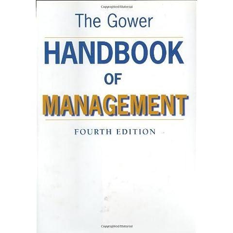 The Gower Handbook of Management (1998-12-01)