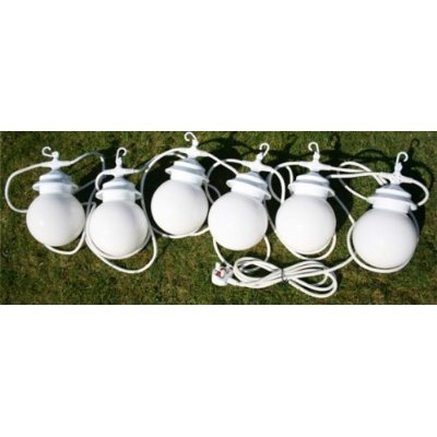 Gazebo / Marquee / Patio Globe Lights - Set of 6