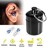 Ear Plugs Hearing Protection Noise Cancelling Silicone Reusable Earplugs Concert Ear Plugs
