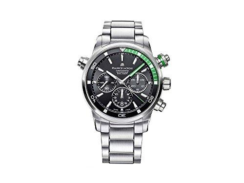 Maurice Lacroix Reloj de hombre automático 44mm PT6018-SS002-331-1
