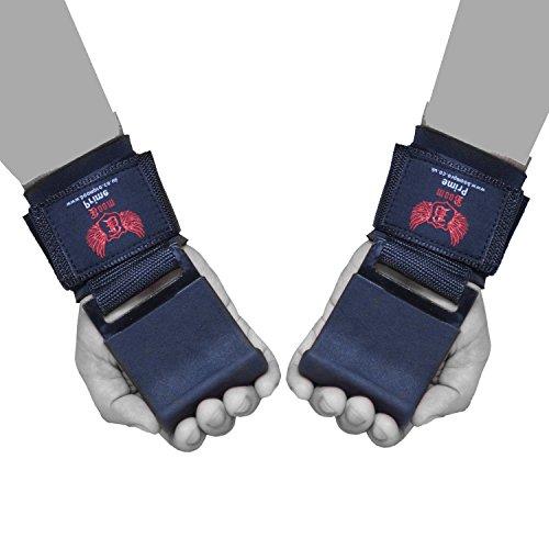 Boom Lift (Boom Prime Power Gewichtheben Training Gym Haken Gurte Handgelenk Stütze Lift Grip Handschuhe Bodybuilding Workout (Kostenloser UK Versand))