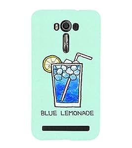 EPICCASE Blue Lemonade Mobile Back Case Cover For Asus Zenfone 2 Laser ZE550KL (Designer Case)