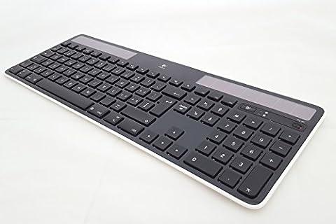 Logitech K750 Wireless Solar Keyboard for Mac - schwarz Mac Tastatur kabellos CH-Layout