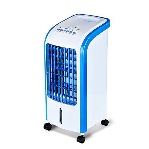 Praktische Elektrische Fan, Klimaanlage Fan Gekühlte Befeuchtung Einzigen Kalten Zuhause Mobilen Luftkühler für Wohnzimmer Schlafzimmer Büro, BOSS LV, b, (Boss Remote)