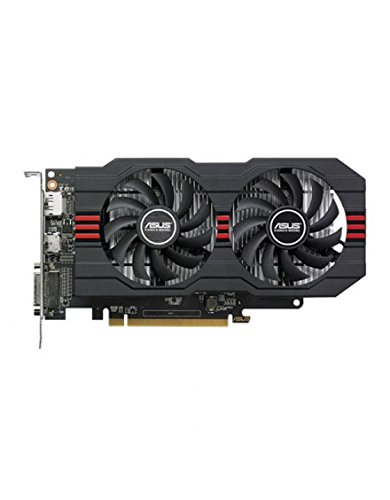 ASUS AMD Radeon RX560-O4G Grafikkarte (AMD, PCI-E 3.0, 4GB GDDR5 Speicher, 1xHDMI, 1xDVI, 1xDisplay Port)