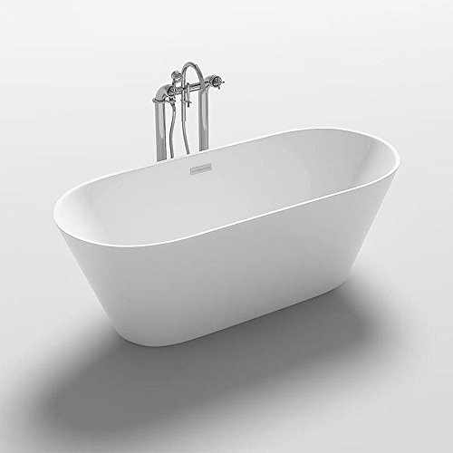 Home Deluxe freistehende Design Badewanne Rondo