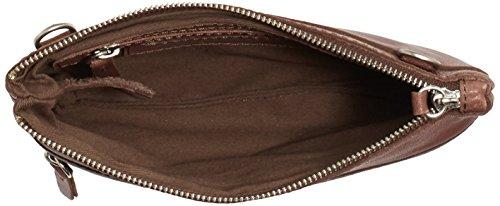 Amsterdam CowboysBag Thaxted - Borsa a tracolla Donna Marrone (Braun (Chocolate 550))