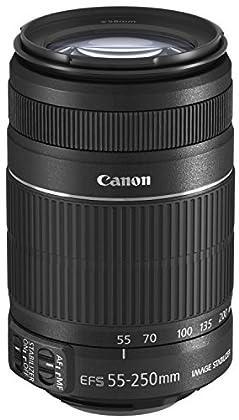 Canon EF-S 55–250mm 4,0–5,6IS II Lente para EOS (Estabilizador de Imagen)