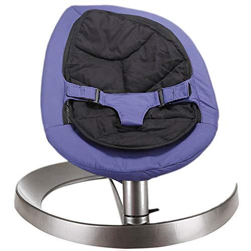 Yzibei Schaukelstuhl für Kinder Baby Schaukelstuhl Neugeborenen Schaukel Sitz Komfort Rocker Stuhl für Kleinkinder Alter 0-6 Geeignet für Neugeborene (Farbe : Lila)