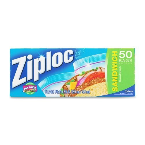 johnson-s-c-inc00390ziploc-sandwich-food-storage-bag-50ct-ziploc-sandwich-bag