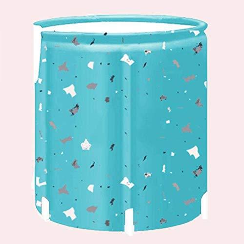Badewanne aufblasbares tragbares Bad Dampfbadewanne mit doppeltem Verwendungszweck PVC-Wanne Badewanne für Erwachsene aufblasbares Spa-Bad Körperwärme Badewanne mit Deckel mit Deckel Badewanne große b -