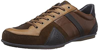 Le Coq Sportif  BENOIT LOW XL-153, Sneakers basses hommes - Marron - Marron écaille de tortue, M EU