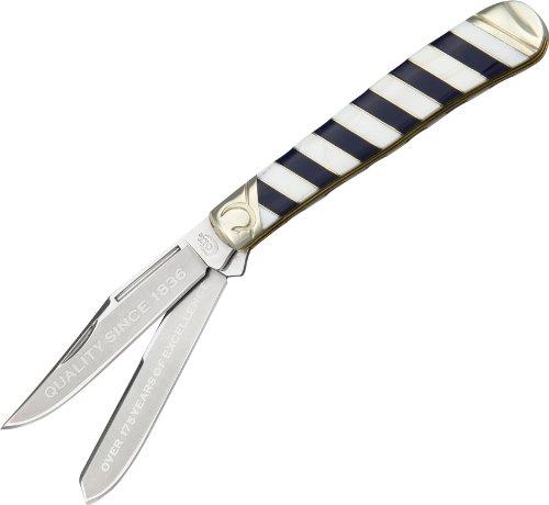 NFL Colt CT563 Couteau Pliant Mixte Adulte, Bleu/Blanc