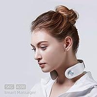 Isıtma Fonksiyonlu SKG Akıllı Boyun Masaj Cihazı Beyaz