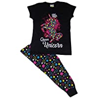 Girls Unicorn Short & Long Pyjamas Younger to Teens