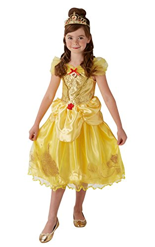 Rubie's princess costume la bella e la bestia per bambini, multicolore, l, it620489-l