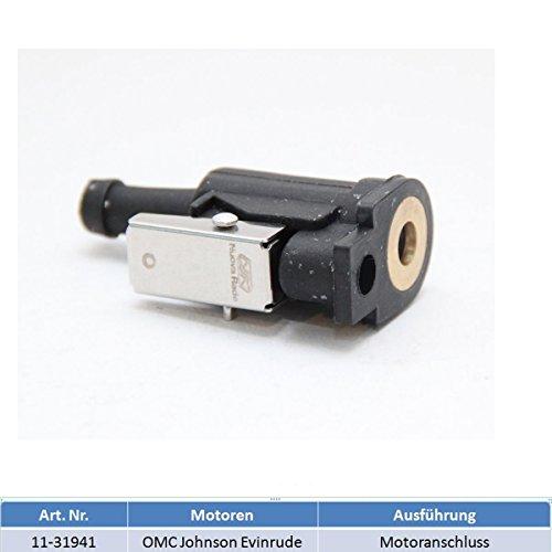 Motoranschluss Adapter Benzintank Außenborder für OMC (Johnson und Evinrude) und Honda Außenborder -