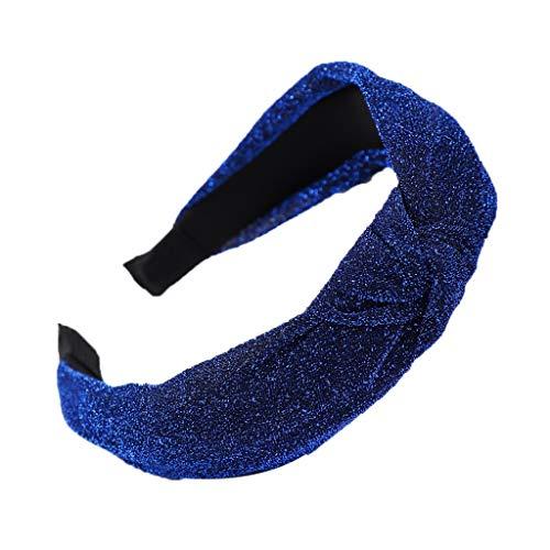 eu Mode Bogen Knoten Frauen Helle Seide Kopf Hoop Einfache Süße Mädchen Haar Stirnbänder Schnell verkaufend ()