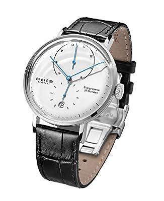 FEICE Reloj Automatico para Hombre Reloj Bauhaus Reloj Mecanico Acero Inoxidable Espejo Arqueado Reloj Analogico de Moda Unisex -FM202 Ø42mm