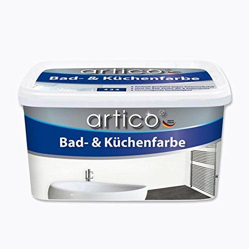 5 Liter Bad- & Küchenfarbe Weiß Badfarbe, gegen Schimmelbefall