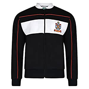 902a1b291dc Score Draw Official Retro Fulham 1986 Track Jacket White/Multi Small