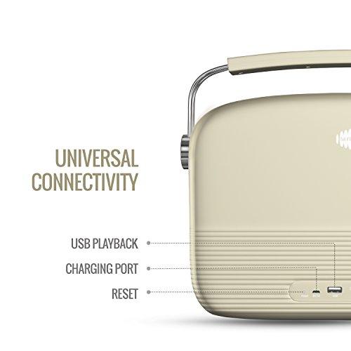 Saregama Carvaan SKU-R20008/R20003 (SC01/SC04) Portable Digital Music Player (Porcelain White)