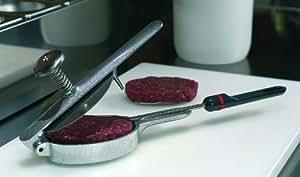 Moule professionnel à steak haché en Inox. Steak de 150 g