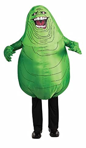 Ghostbusters Slimer Costume - Rubies Costumes Ghostbusters Bouffe gonflable Costume enfant