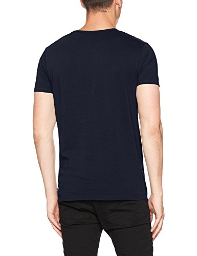 Scotch & Soda Herren T-Shirt Ams SCHWARZW Tee With Chest Pocket Schwarz